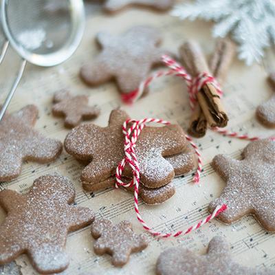 Healthy #glutenfree & #sugarfree #gingerbread cookies
