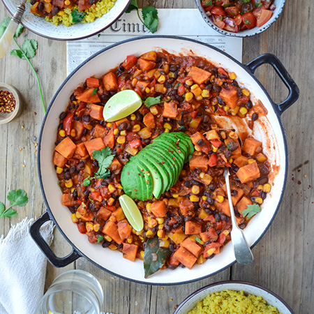 Vegan chili Fit Foodie Nutter
