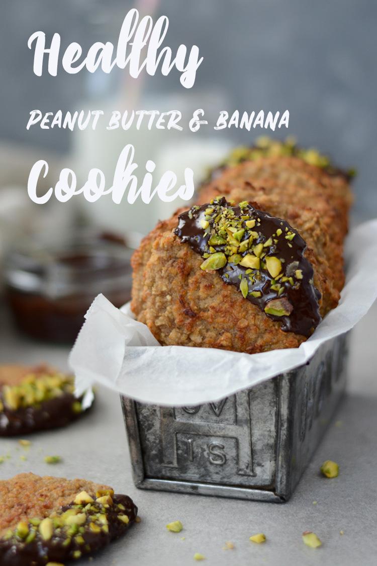 PB & banana cookies Fit Foodie Nutter