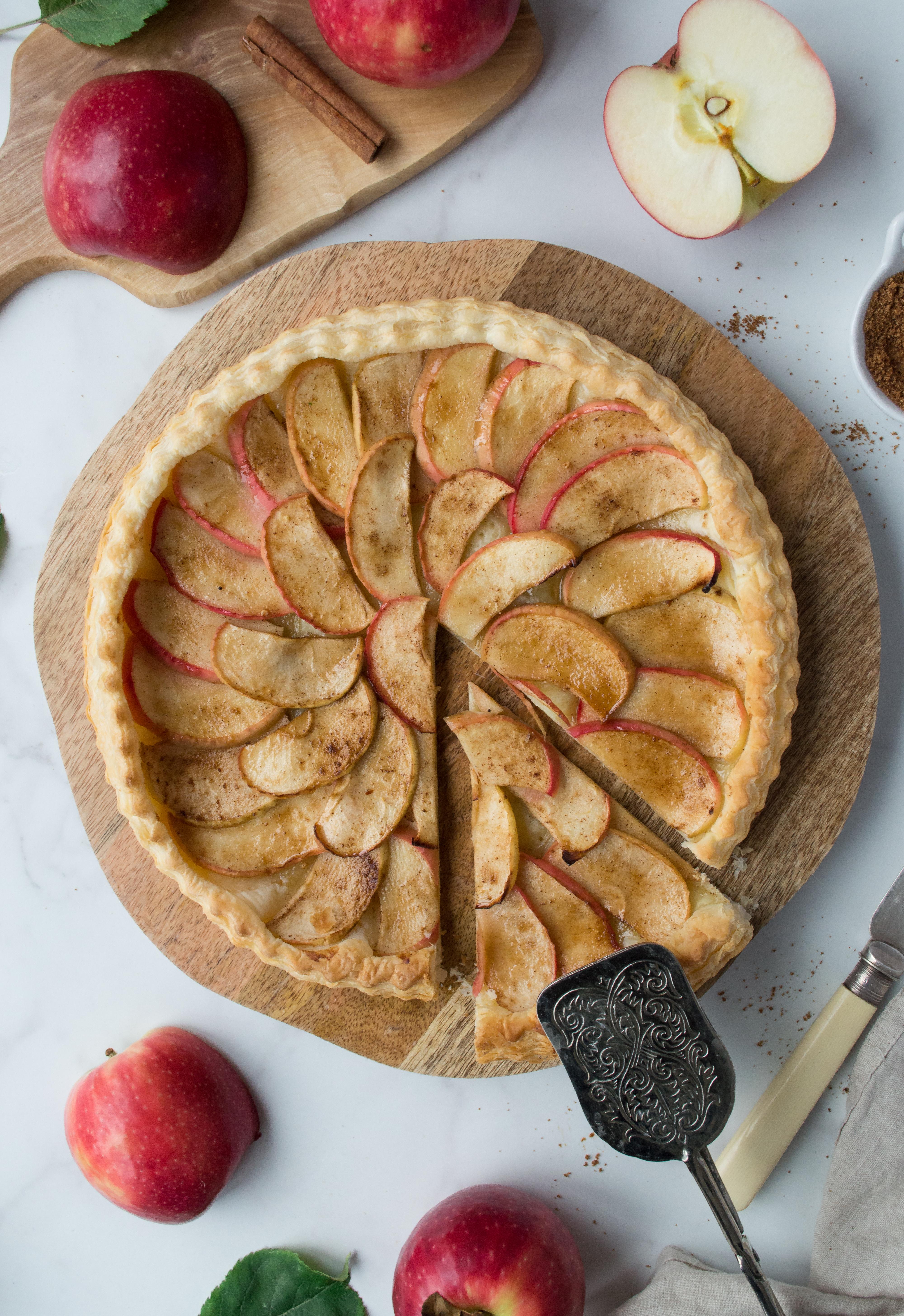 The easiest vegan apple tart you'll ever make