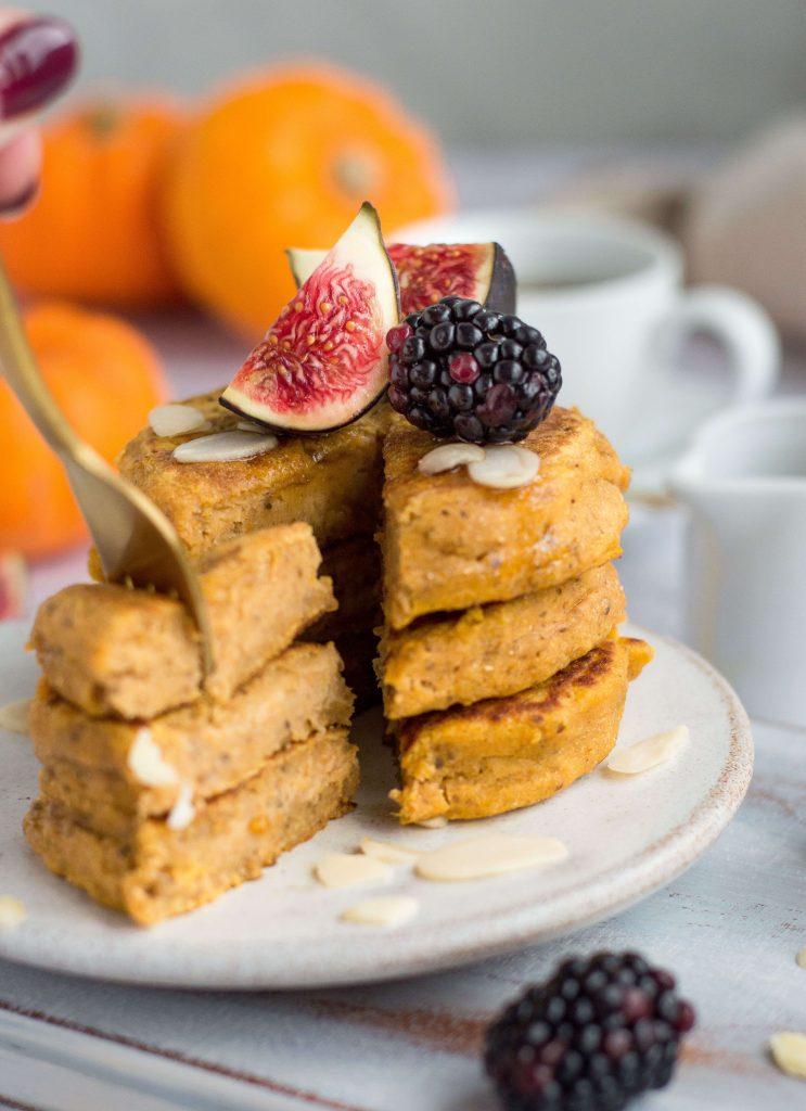 Vegan Butternut Squash Pancakes