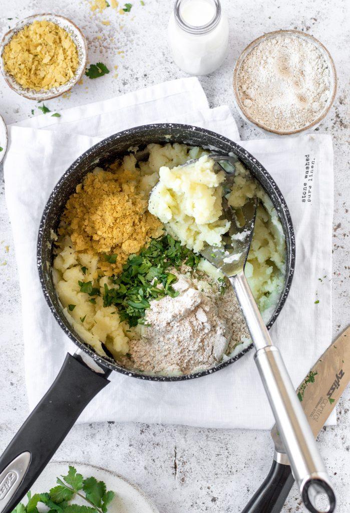 Vegan Potato Cakes Ingredients