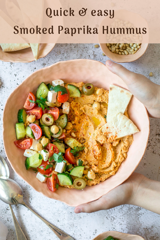 Smoked paprika hummus – Fit Foodie Nutter