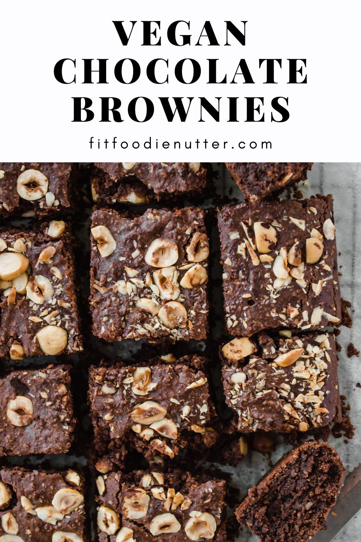 Vegan chocolate brownies